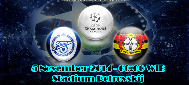 Zenit Vs Bayer Leverkusen
