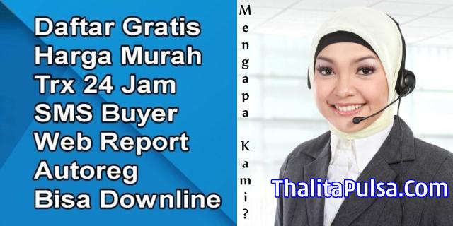 Web Resmi Server Thalita Reload Pulsa Elektrik Termurah Semarang Jawa Tengah Saat Ini