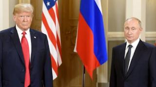 التقى دونالد ترامب بوتين في هلسنكي اليوم