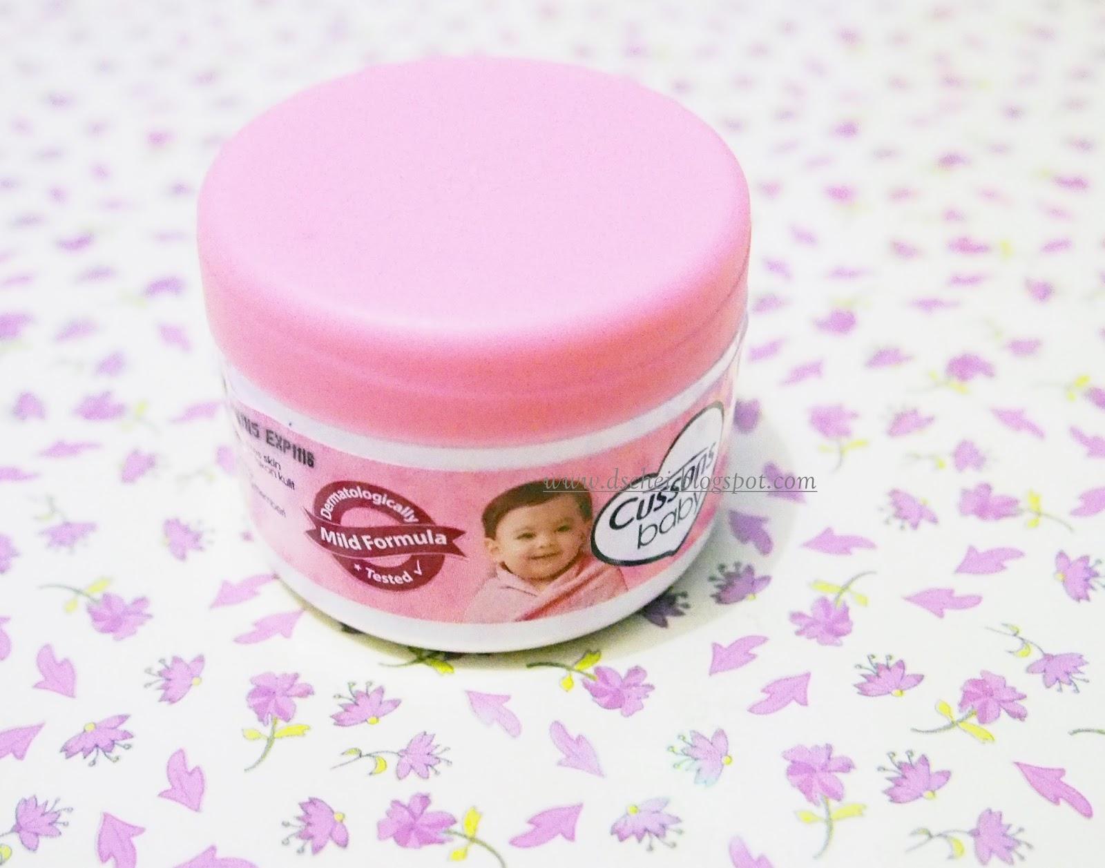 Cara Menggunakan Cussons Baby Cream Untuk Wajah