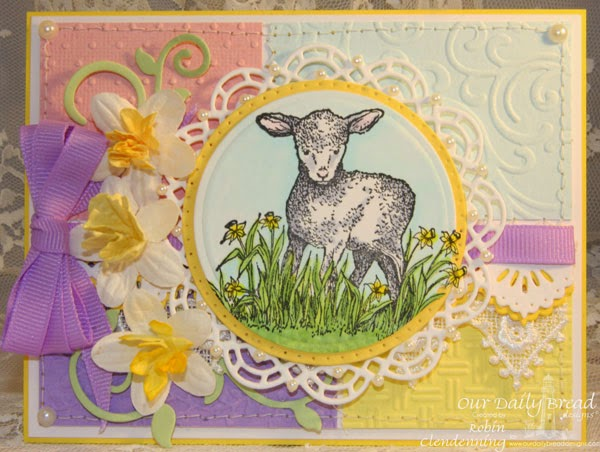 Our Daily Bread Designs, the Shepherd, Doily, Beautiful Borders, Fancy Foliage, Designed by Robin Clendenning