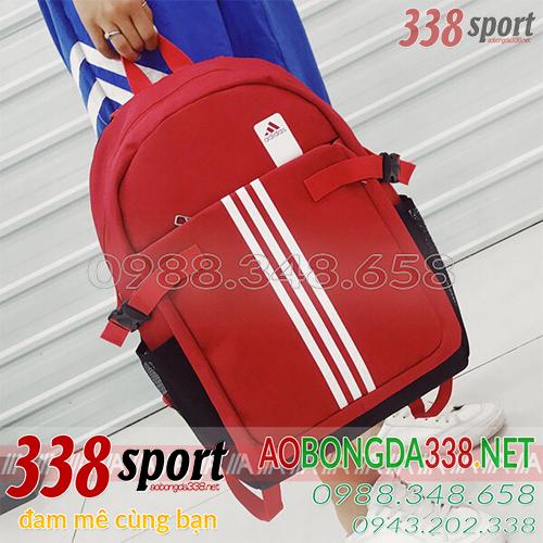 Balo Bóng Đá Di Chuyển Adidas Đỏ