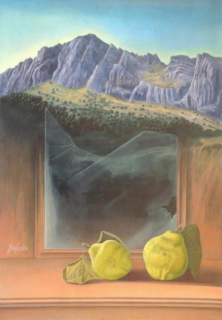 Gregorio Sabillón pintura cuadro naturaleza