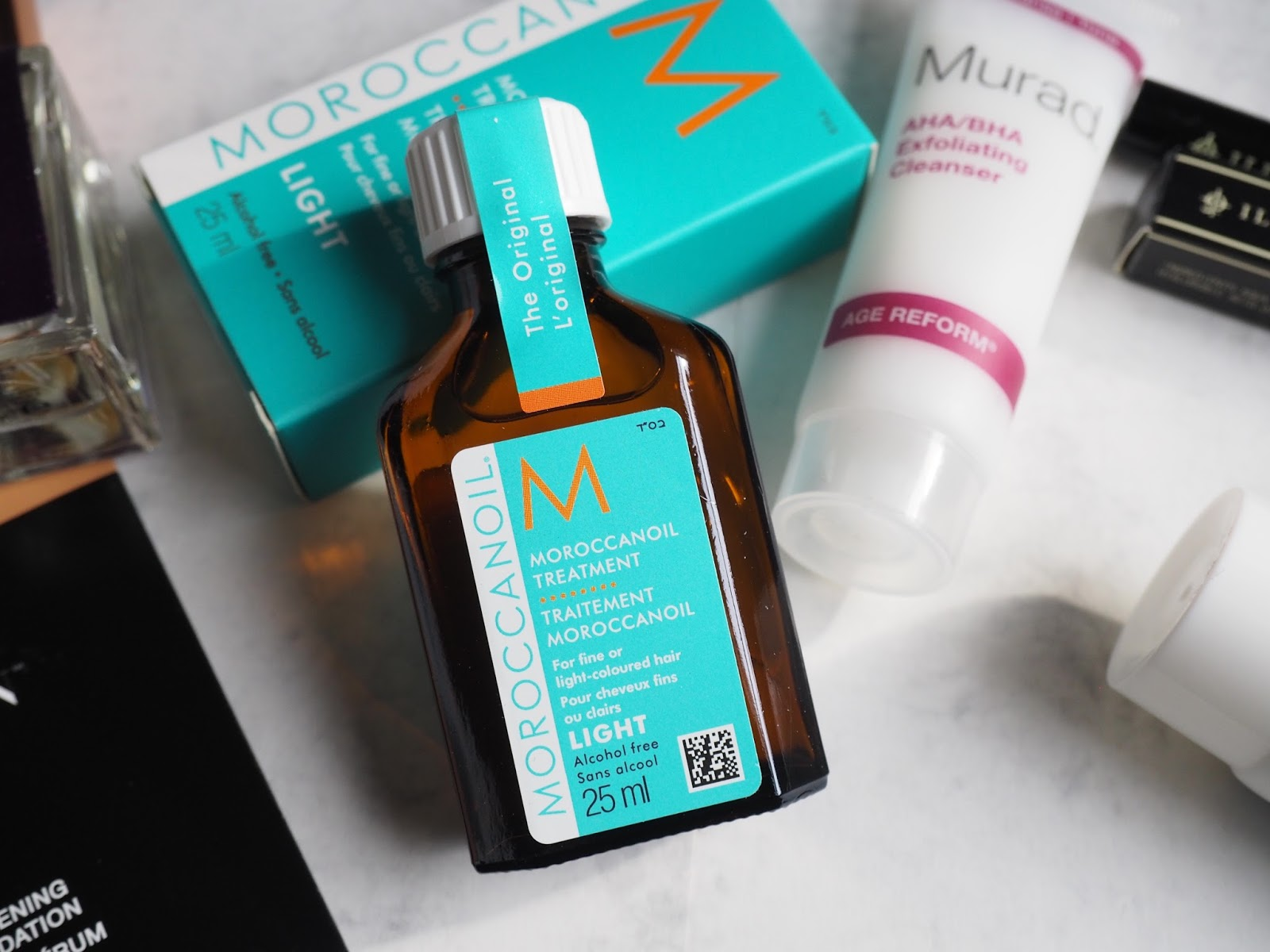 Moroccan Oil Glamour Spring edit beauty box review Latest in Beauty