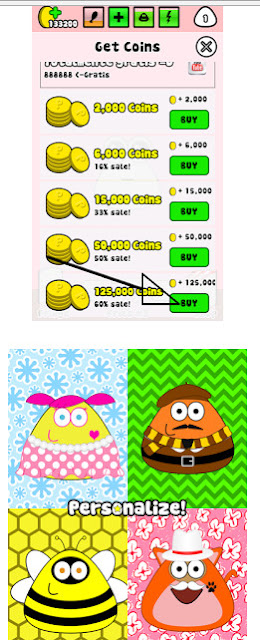 Download Cheat POU Unlimited