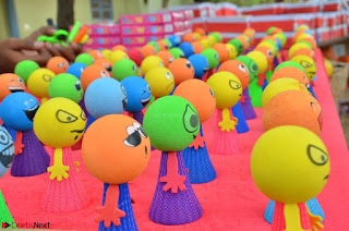 Sakshi Agarwal in Orange Saree at Inauguration of Handloom And Handicraft exhibition ~ Exclusive