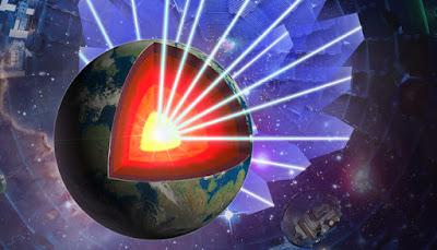 Els experiments amb làser donen llum al nucli de la Terra
