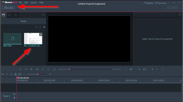 Filmora Screen Recorder