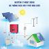 Hệ thống điện mặt trời hòa lưới tại Bến Tre