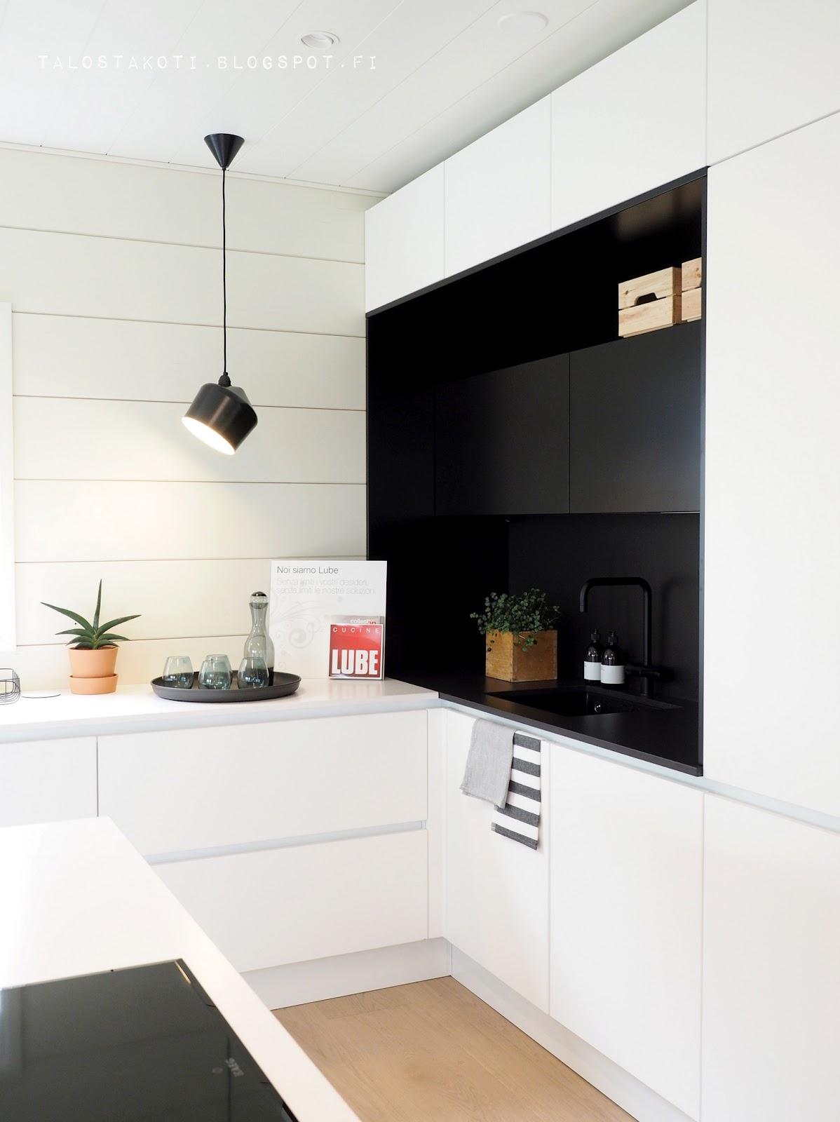 Seinäjoen asuntomessut Honka Markki keittiö Lube