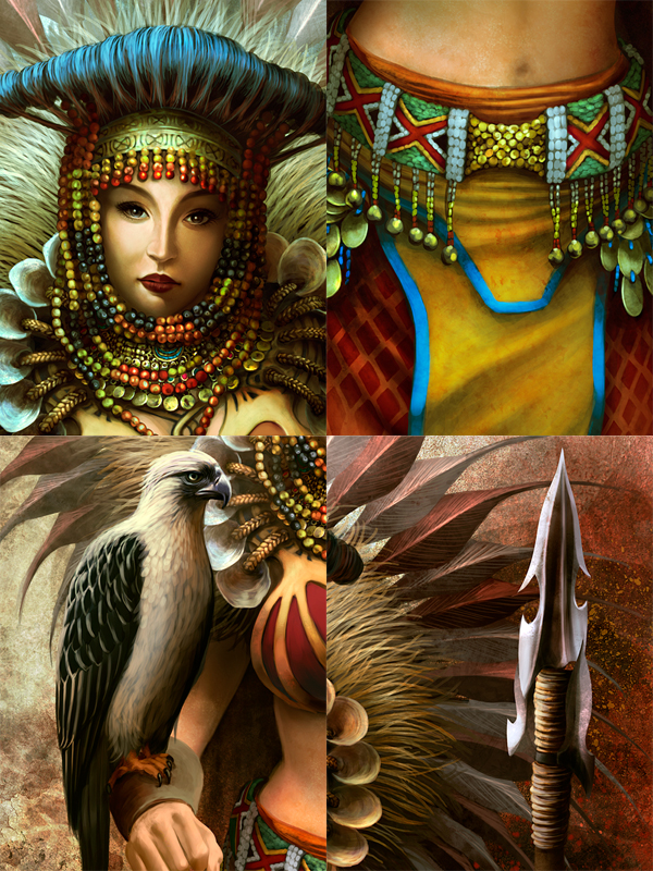 Beautiful Tattoo Girl Wallpaper The Art Of Digitalhadz Urduja The Warrior Princess
