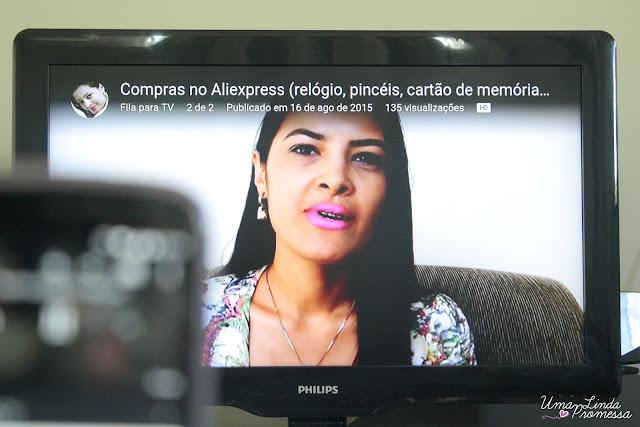 chromecast tv comum smart tv