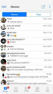 BBM B-IOS Apk Versi Terbaru 2017