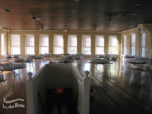 third floor of the Bonaparte Inn