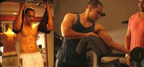 Aamir Khan Body Workout