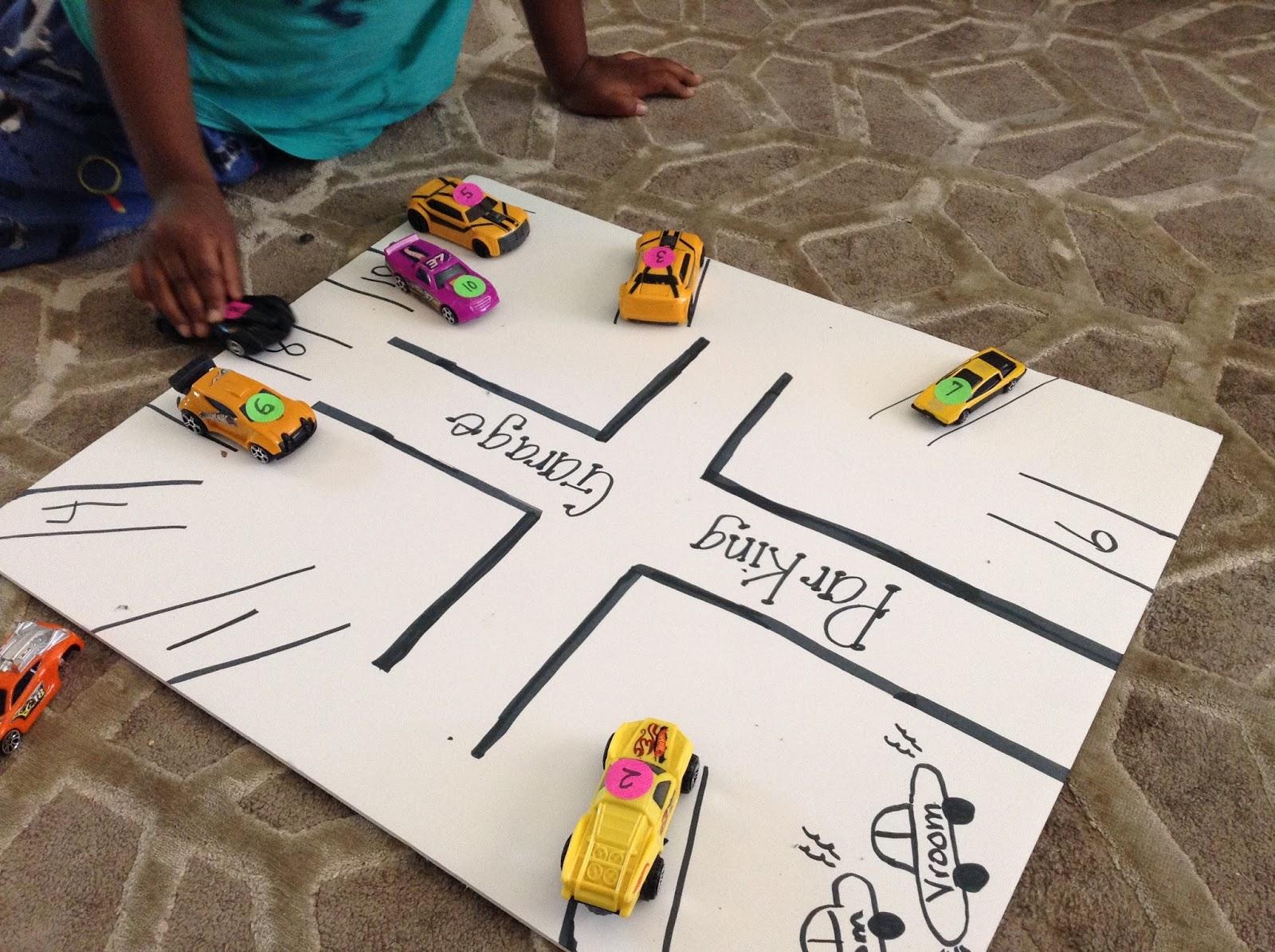TeacherMomPlus3: Parking Garage Number Activity