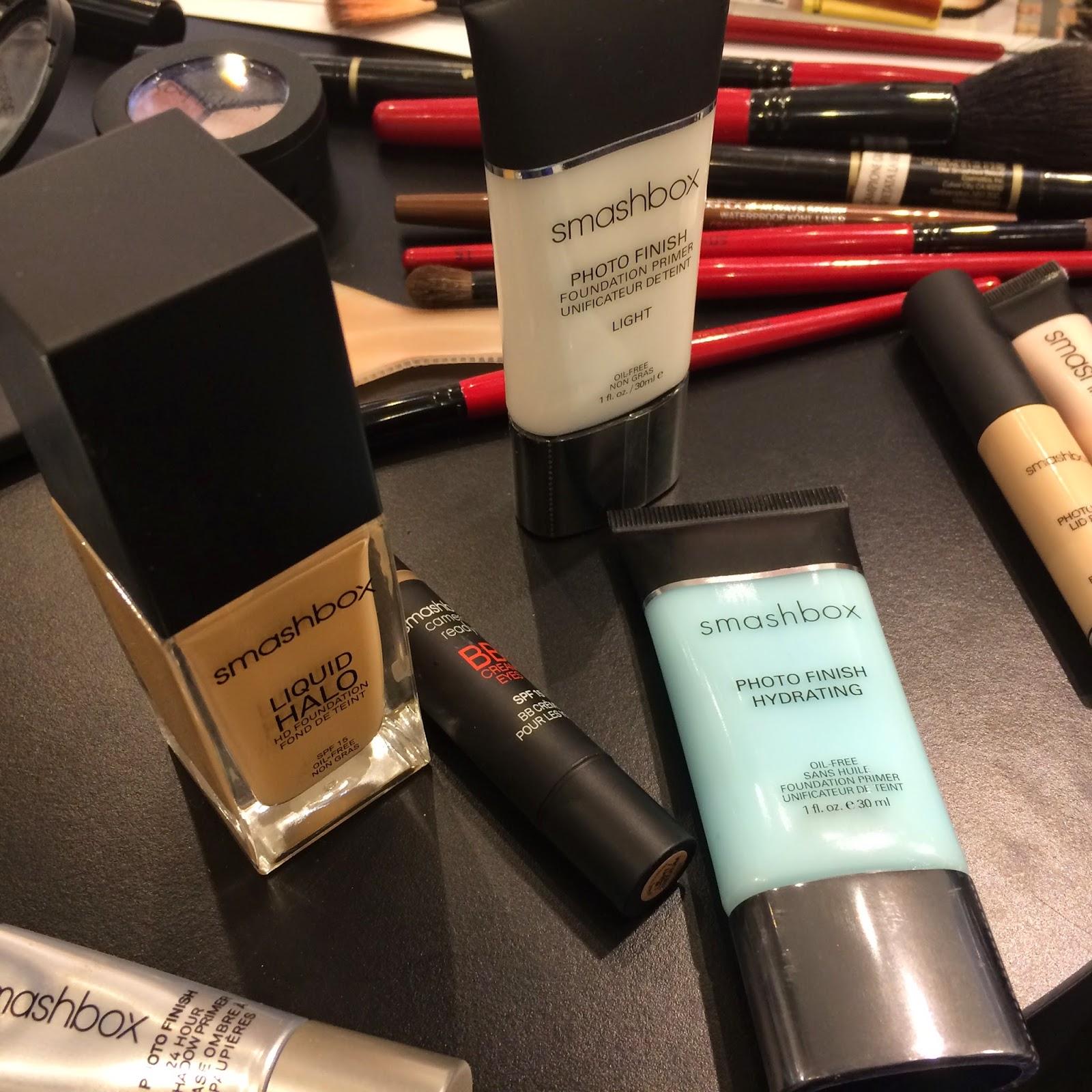smashbox cosmetics makeup tour profumeria La gardenia