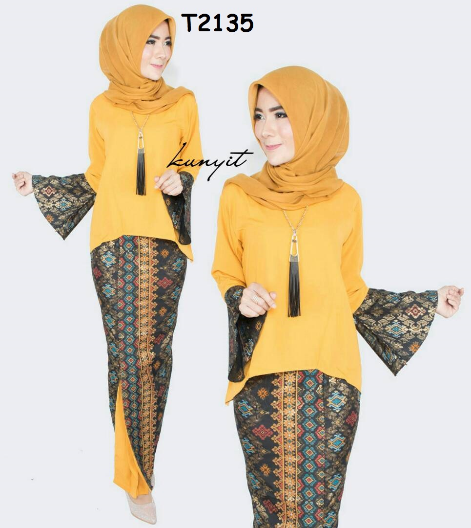 Kumpulan Model Baju Batik Lengan Lonceng Terbaru 2019 Website