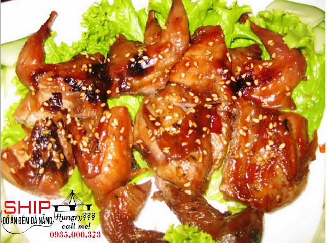 Canh ga nuong - Ship do an nhanh Da Nang