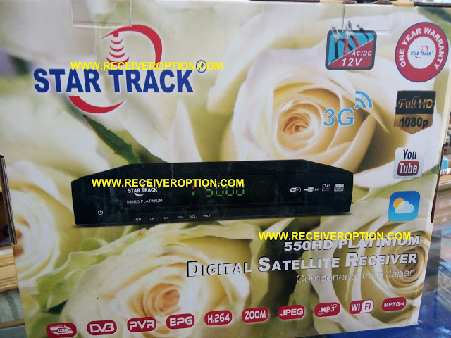 STAR TRACK 550HD PLATINIUM RECEIVER HANG PROBLEM NEW SOFTWARE