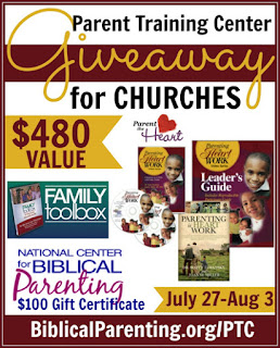 Parent Training Giveaway for Churches