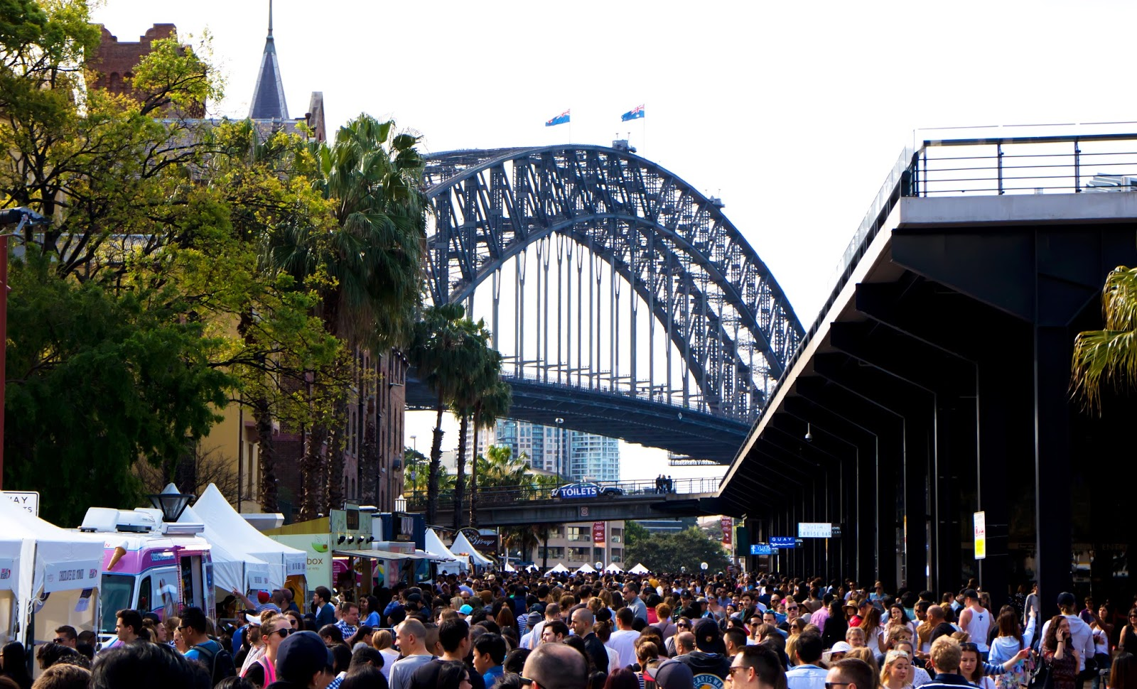 Sydney Chocolate festival at The Rocks