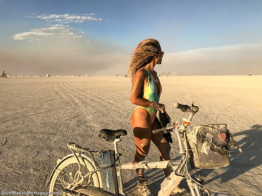The Most Beautiful Girls of the Festival Burning Man 2017