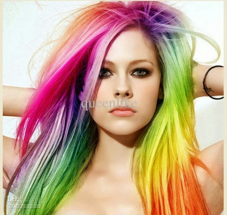 Hairstyle & Haircolor: Style Color Strange Avril Lavigne