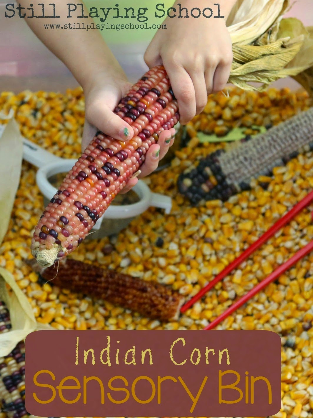 Indian Corn Crafts And Activities For Kids