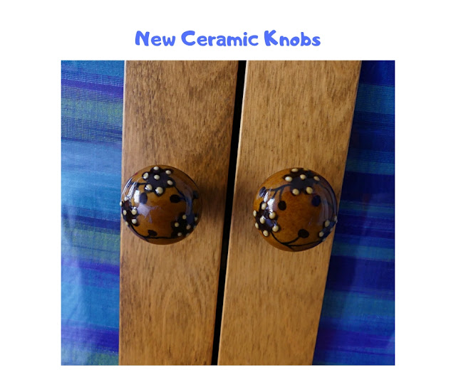 Ceramic Knobs for cabinet.
