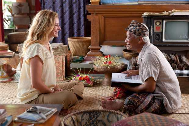 Ketut Liyer figure in the movie of Eat Pray Love