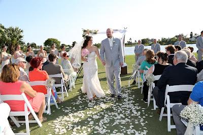 wedding the dunes sanibel ceremony