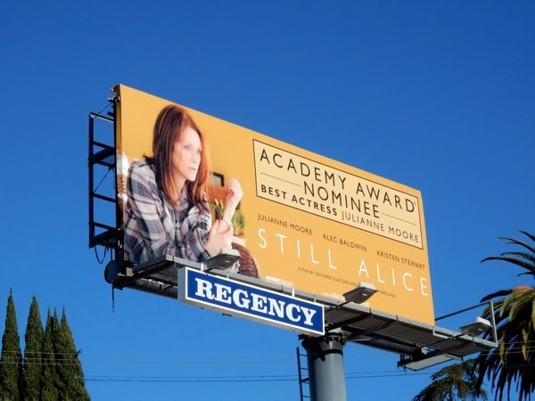 Still Alice Oscar nominee billboard