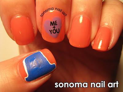 Sonoma Nail Art January 2012