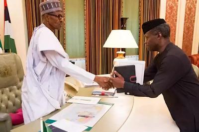 President Buhari handed over to me- Osinbajo clarifies