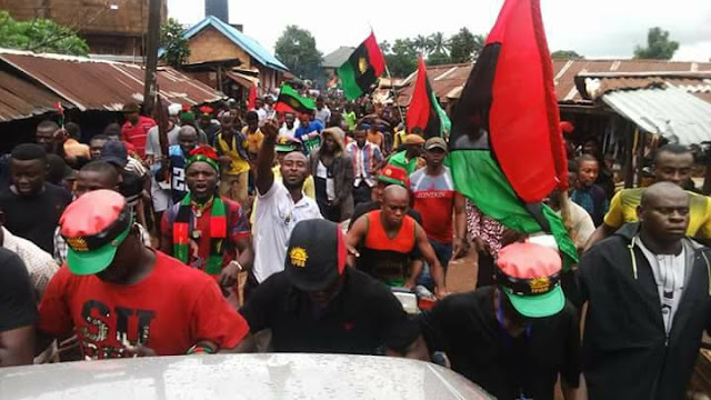 Eze Soronnadi Nwabueze Ezewuiro, Mayor of Igbo Nation in Diaspora, has declared that the Movement for the Actualisation of the Sovereign State of Biafra, MASSOB, and the Indigenous People of Biafra, IPOB, are non-Governmental Organisations, NGOs, set up to defraud Igbos.