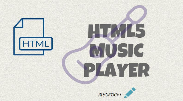 html music player