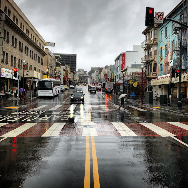 Rainy day in SF