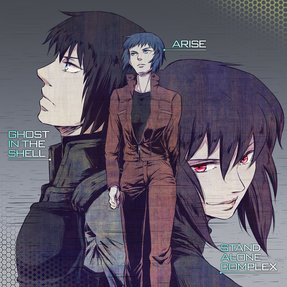 Realm Of Darkness Ghost In The Shell Arise