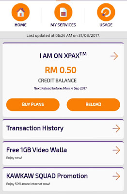 Video Walla Percuma 1GB Untuk Pengguna Celcom Dan Xpax