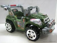 1 Mobil Mainan Aki PLIKO PK9018N Rebirth dengan Kendali Jauh