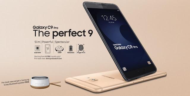 keunggulan Samsung C9 Pro, Spesifikasi Samsung C9 Pro