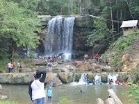 Wisata Air Terjun Tosah Kalimantan Tengah