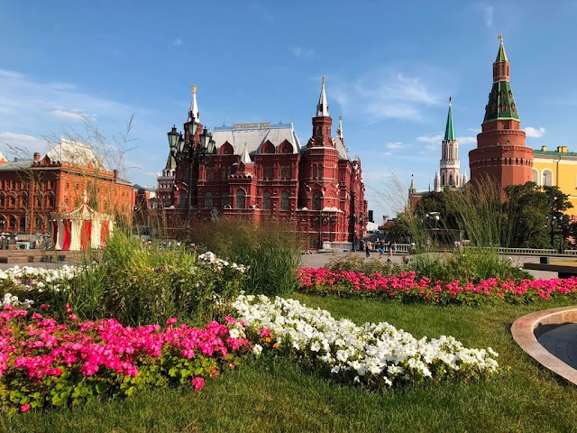 Alexandrovsky garden - Moscovo