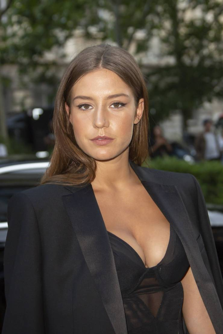 Adele Exarchopoulos At Vogue Paris Foundation Gala