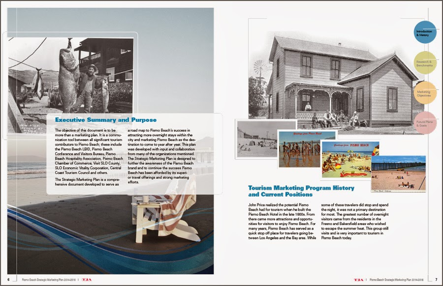Pismo Beach - Marketing Plan - Book Design