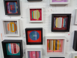 Vibrato series in studio, showing now at CK Gallery 2016 summer exhibition CHROMA