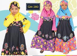 Model Baju Muslim Anak Perempuan Rabbani Terbaru