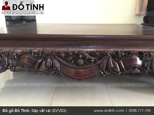 Sập vắt vải (SSV03) - Những kiểu sập gỗ hiện đại