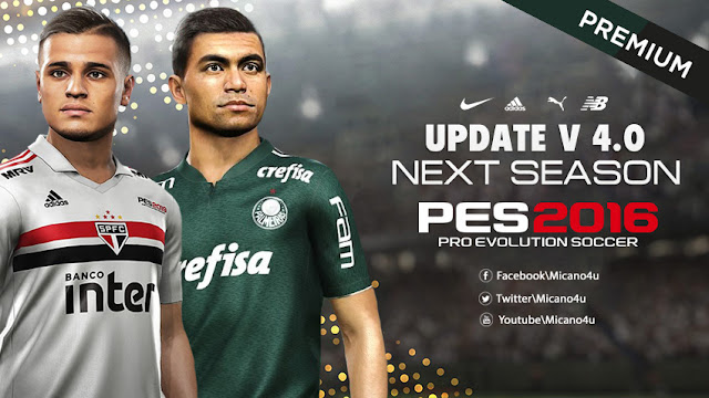 PES 2016 Next Season Patch 2019 Official Update v4 0 - Micano4u